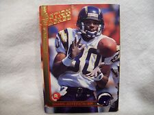 1991 Action Packed Football Shawn Jefferson #47- San Diego Chargers Rookie card