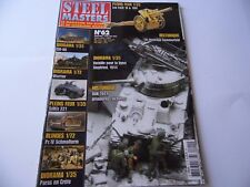 STEEL MASTERS ISSUE 62  - MILITARY HISTORY WARGAMING MAGAZINE