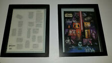 Star Wars Usps Stamps Sheet-15 postage stamps- Darth Vader, R2D2, Luke Skywalker