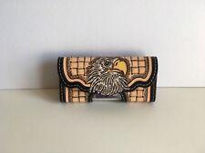 Etui horizontal de ceinture pour smartphone style iphone en cuir repoussé