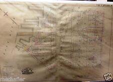 1887 CARROLL GARDENS RED HOOK BROOKLYN NEW YORK HOPKINS INSURANCE MAP ATLAS