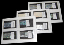 Sample package: 12 pieces of various shell veneer sheets for evaluation