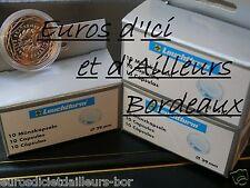 4 CAPSULES. Ideal pour pièces 10 euros des REGIONS  - Diamètre 29 mm