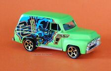 2011 Matchbox Loose 1955 Ford F-100 Delivery Lime Green Enjoy PB Energy Drink