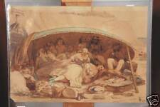 WILLIAM J. WEBBE ACT. (1853-1878) ORIGINAL WATERCOLOR