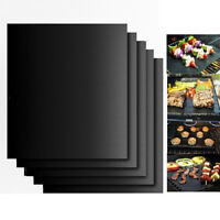 5 Non-Stick Surface Reusable Easy Clean BBQ Cooking Baking Heating Grill Mat