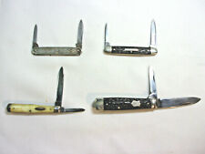 Lot of Four L.F.& C Pocket Knives - Pre 1950's - LOOK!