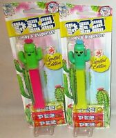 """CATCUS  Pez Dispensers  """"Limited Edition """"  LILLY & SPIKE  [Carded]"""