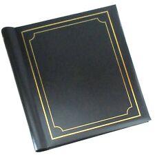 Self Adhesive Photo Albums Spiral Bound 40 Sheets 80 Sides Black - SM80BK