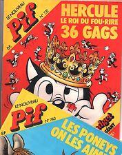 PIF GADGET - Lot des n°731 à 740 - Mars à mai 1983 - NEUF sans gadget