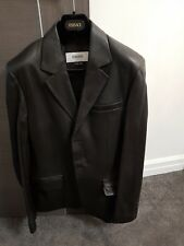 Versace Collections Mens Lamb Leather Jacket/coat - Worn Once, Small, Fitted...