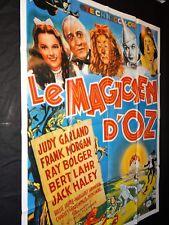 LE MAGICIEN D' OZ   judy garland affiche cinema