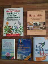 5 Bücher Gesundheit Hausmittel Krankheit Heilung Heilkräuter Maria Trebe