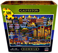 Dowdle Galveston Texas Jigsaw Puzzle 500 Piece Factory Packaged Sealed Fantastic
