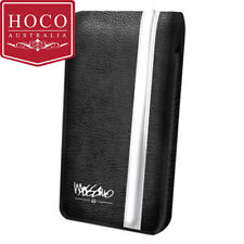 Mossimo Deluxe Leather Pouch for iPhone 5/5S/SE- Black & White