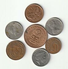 NUEVA ZELANDA  Lote de monedas