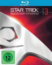 STAR TREK: ORIGINAL SERIES REMASTERED SEASON 3  6 BLU-RAY NEU WILLIAM SHATNER/+