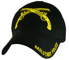 Military Police Hat / U.S. Army Black Baseball Cap