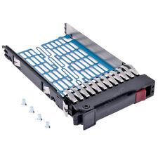 """8x Original HP Tray Caddy HDD Leerrahmen 2,5"""" / 6,35 cm HP 371589-001 500223-001"""