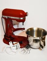Kitchen Aid Professional 6000 HD KSM6573CER Stand Mixer 6 Quart Empire Red