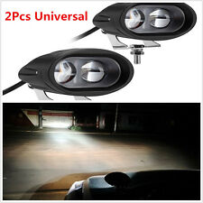 2Pcs Universal CREE 20W Spot LED Work DRL Light Car Driving Fog Offroad 4WD Bar