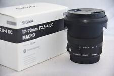 Sigma EX 17-70mm f/2.8-4 DC OS HSM Lens C lens for Sony Alpha A  Minolta