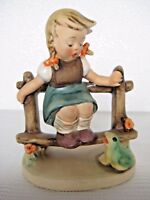 "VERY RARE GOEBEL Hummel  ""LITTLE VELMA"" # 219 2/0 • TMK2 FULL BEE!"
