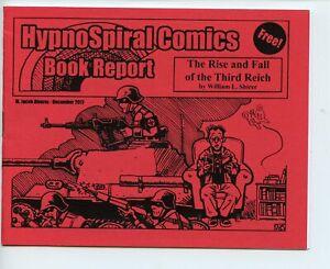 Hypno Spiral Comics Book Report Jacob Alvarez mini comic 2017 VF