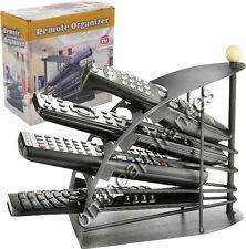 NEW REMOTE CONTROL ORGANISER CADDY STORAGE HOLDER UP TO 4 REMOTES STAND TIDY UP