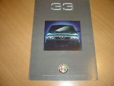 DEPLIANT Alfa Roméo 33 de mars 1991