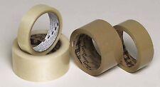 6 x 3M 369 'Tartan' Buff Parcel Packing Tape;48mm x 66m