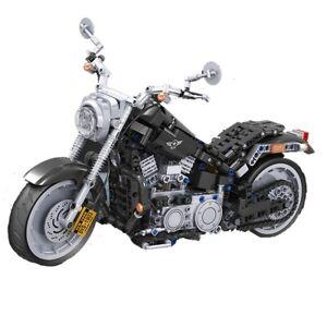 Educational American Motorcycle Winner C29 Block Building Motorcycle Technique