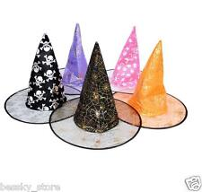1Pc Adult Womens Witch Hat Costume Accessory For Halloween Party Halloween Gifts