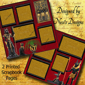 Egyptian Themed Set with Figurines, Statues and Pictures - Handcrafted Art