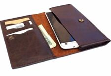 Genuine Natural Leather Case For Samsung Galaxy Note 3 2 Credit Cards slots Slim
