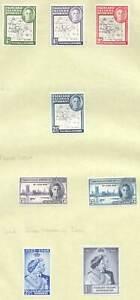 W0199 1946-49 FALKLAND ISLANDS DEPENDENCIES SILVER WEDDING SG 92 £ !!! 8ST MLH