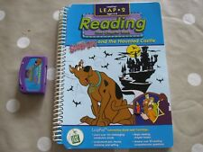 Scooby Doo and the Haunted House Leap Frog Leap Pad Book and Cassette
