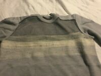 Dion Lee Wool Jumper Grey/Mesh Size 12