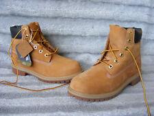 New Womens Junior Boys 6-Inch Timberland Premium Waterproof Boots UK 4 EU 37