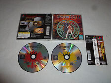 JAPAN IMPORT GAME PLAYSTATION DRACULA DETECTIVE PS1 W CASE ASCII SOFT