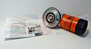 New Spin on Oil Filter Adapter for Triumph TR6 and TR250 w Fram Filter