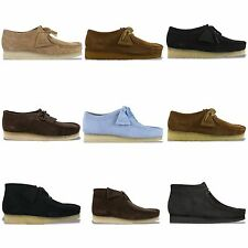 CLARKS ORIGINALS WALLABEE - VARIOUS COLOURS - BLACK, EBONY, COLA, LEATHER BNIB