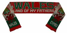 Wales Rugby Football Scarf - Land of my Fathers