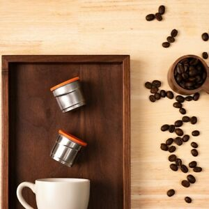 Stainless Steel Coffee Converter Adapter For Illy Machine Disposable Capsules