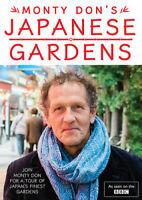 Monty Don's Japanese Gardens DVD (2019) Monty Don cert E ***NEW*** Amazing Value