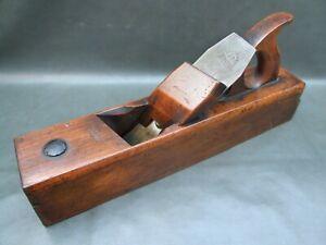 Wooden skewed badger rebate plane vintage old tool by Speight
