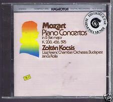 MOZART CD NEW CONCERTIS 6 .18.27 ZOLTAN KOCSIS/ JANOS ROLLA
