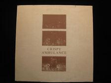 "CRISPY AMBULANCE UNSIGHTLY AND SERENE FAC THIRTY TWO 45 RPM 10"" SINGLE LP VINYL"