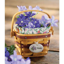 Longaberger Collector Club May Series Liner Only for Mini Violet Basket New