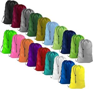 3X LARGE HEAVY DUTY ASSORTED COLOR COMMERCIAL LAUNDRY BAG WASHABLE 30X40
